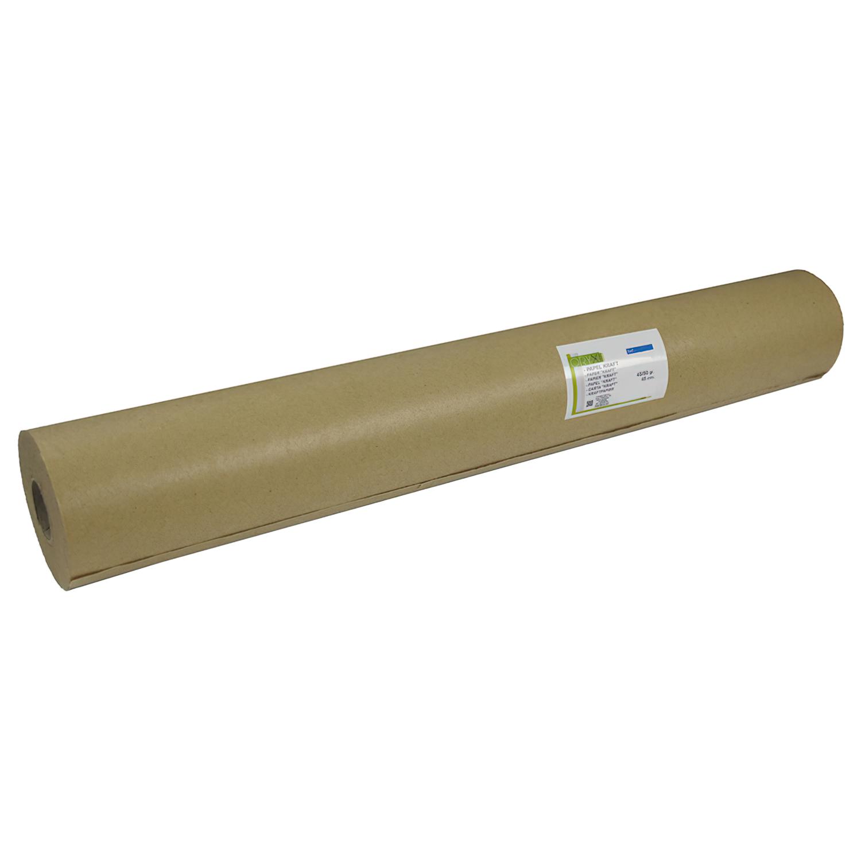 Papel Kraft 45 / 50 Gramos Rollo 45 cm. x 45 Metros