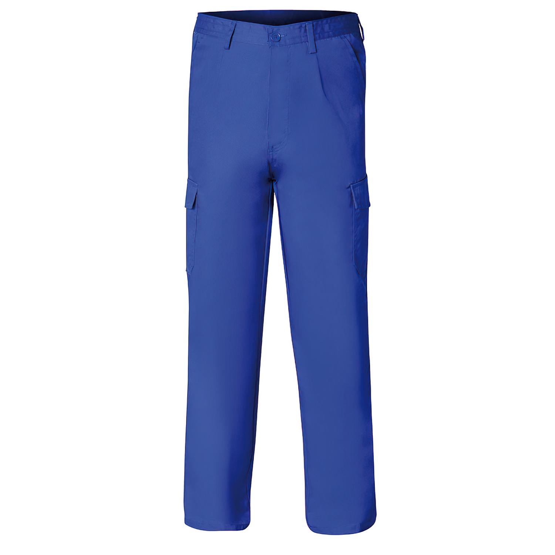 Pantalon De Trabajo Azul 56