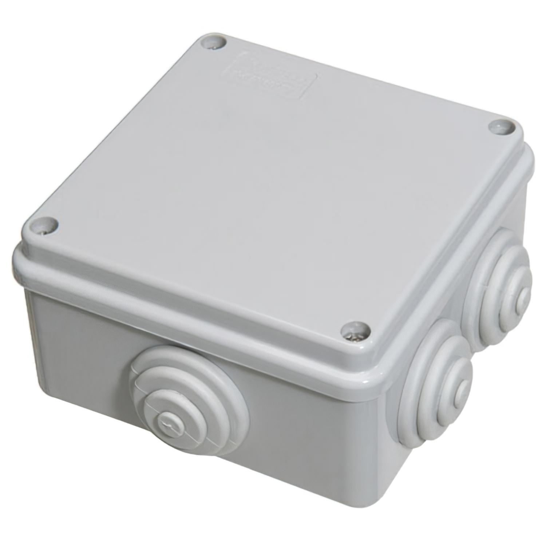 Caja Estanca Superficie Con Tornillo 100x100x50 mm.