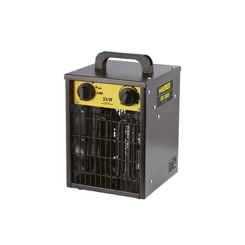 Calefactor Industrial 1000 / 2000 W.