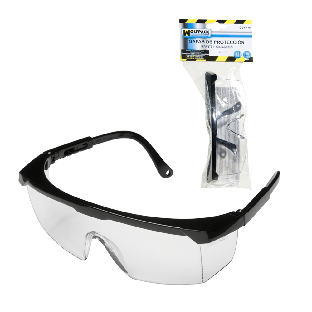 Gafas Proteccion En166 Patillas Ajustables Neutras