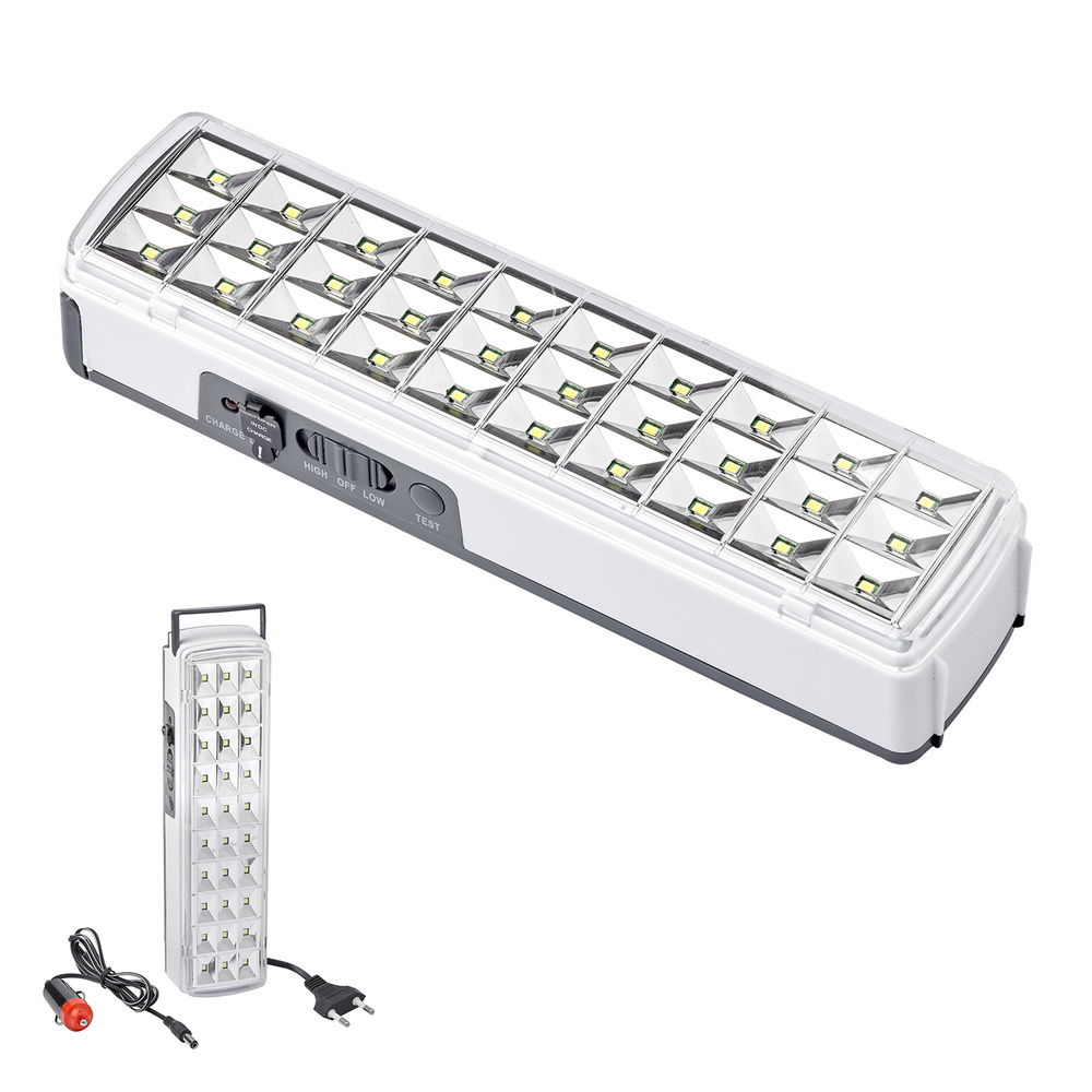 Linterna Led Emergencia Recargable Con Bateria De Litio