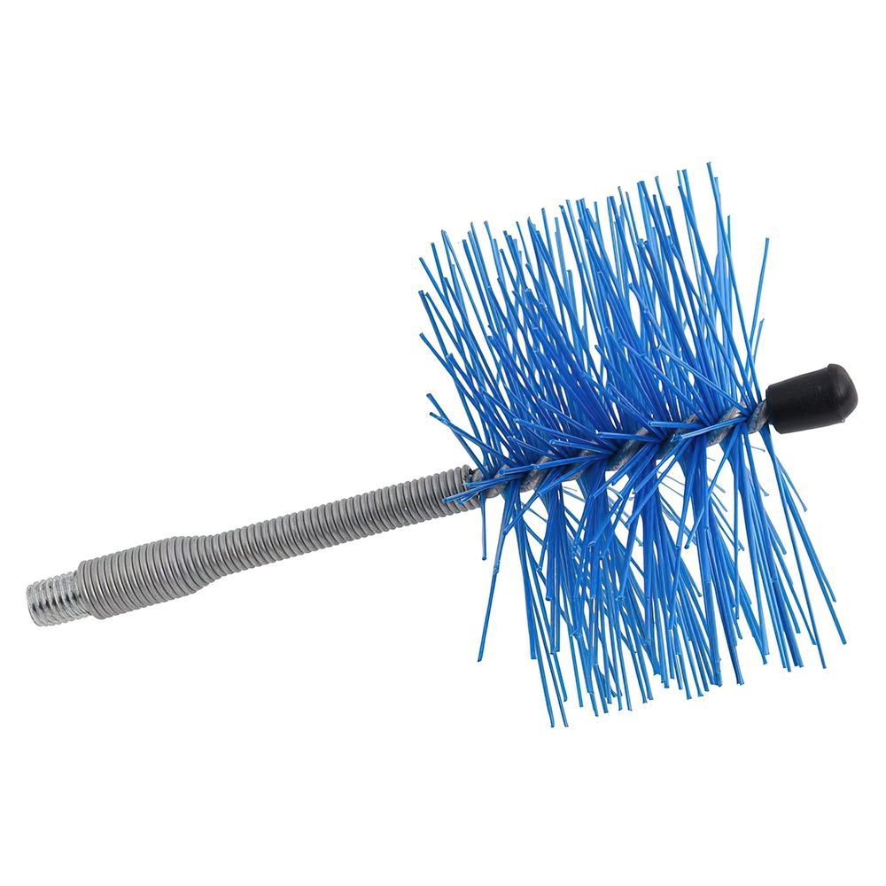 Deshollinador Cepillo Nylon Eje Flexible 120 mm.