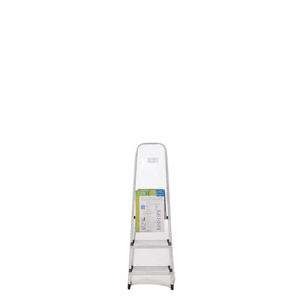 Escalera Aluminio Oryx  3 Peldaños Domestica