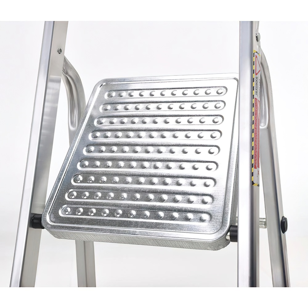 Escalera Aluminio Oryx  4 Peldaños Doméstica