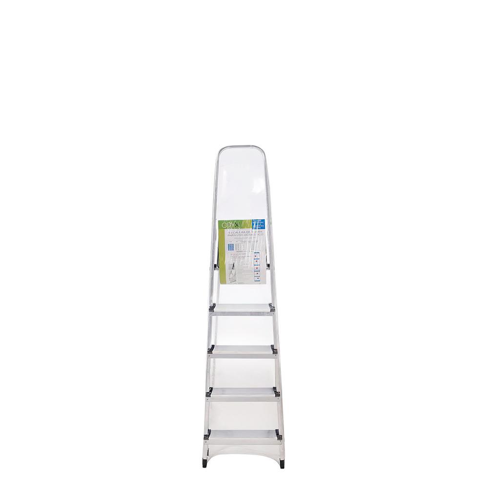 Escalera Aluminio Oryx  5 Pelddaños Doméstica