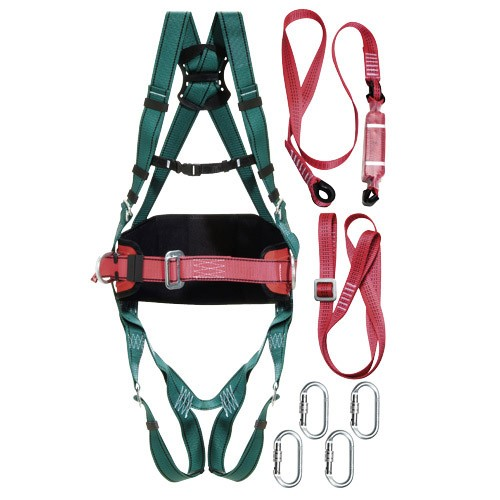 Arneses, y cinturones de seguridad