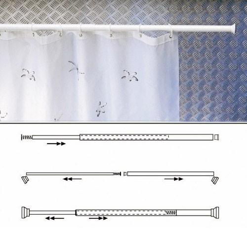Barras cortina baño